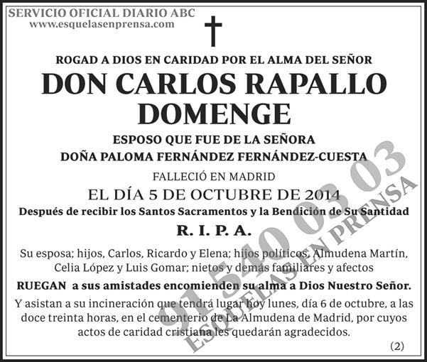 Carlos Rapallo Domenge